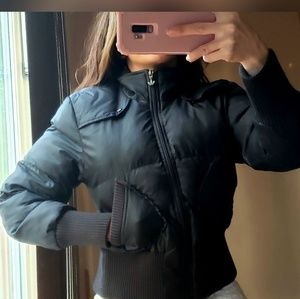 💞🥰HOST PICK🥰💞!Adidas black puffer jacket-.XS-S